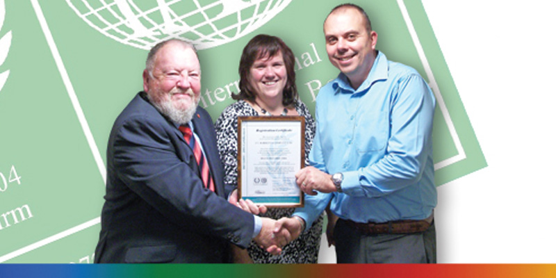 Barrettine Gain ISO 14001