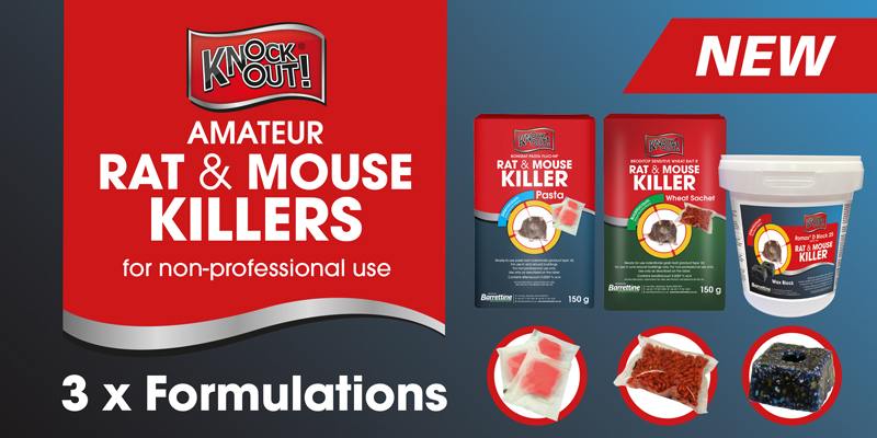 Knockout Rodenticide Range