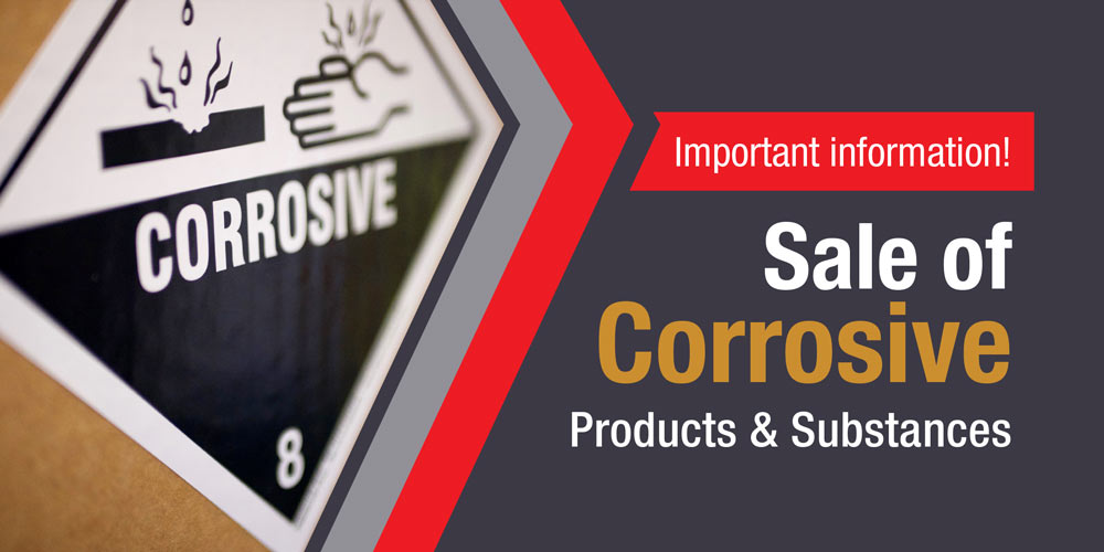 Corrosive products