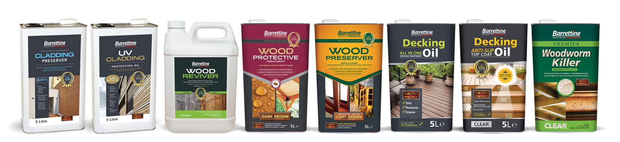 Barrettine Woodcare Range